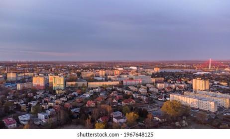 Gdańsk, Stogi, Poland. Port district.