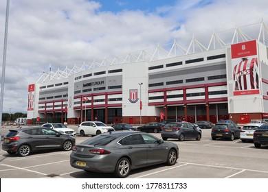stoke city bet 365 stadium in Stoke-on-Trent UK, photo taken on 07/17/20