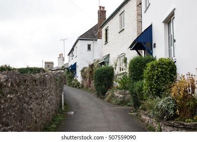 Stoke Gabriel, River Dart, English Village, Totnes, Devon, UK