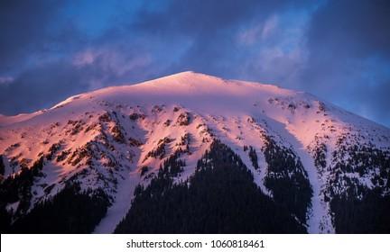 Stol mountain at sunset - Shutterstock ID 1060818461