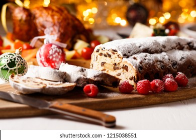 Stollen -german christmas bread
