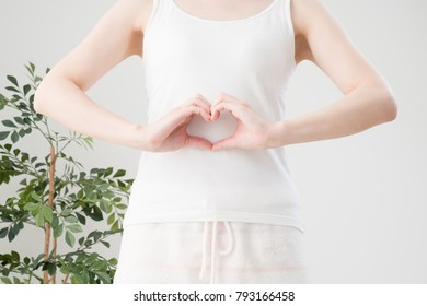 Stomach and heart mark