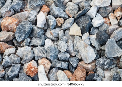 stone aggregate for concrete mixing material