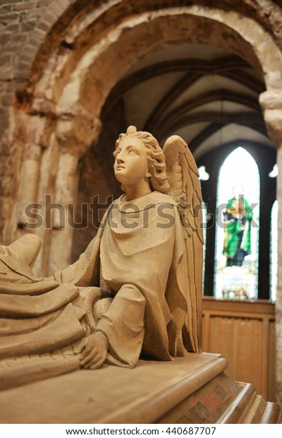 Stone Angel, Chester Cathedral