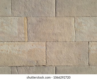 Stone ashlars. Seamless texture with a stone ashlars wall.