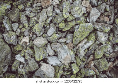 Stone background, brown color tone image