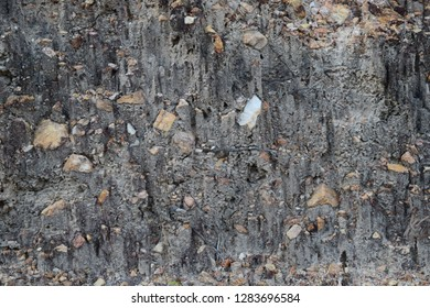 Stone Background. Stone mixed with soil perfectly