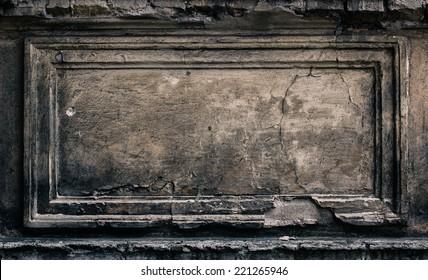 Stone background texture / frame