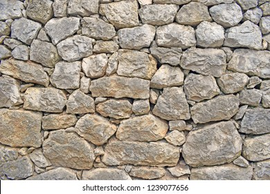 Stone background. The texture of the wall.