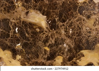 Stone Backgrounds and Textures - Marble Slab Color - Emperador - Dark