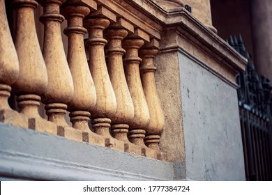 Stone balusters in Buenos Aires