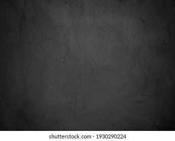 Stone black texture background. Dark cement, concrete grunge. Tile gray, Marble pattern, Wall black background blank for design