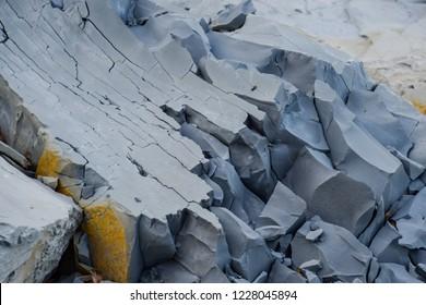 Stone breed marl. The rock marl. Ruined stone