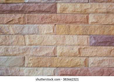 stone brick wall pattern and background texture