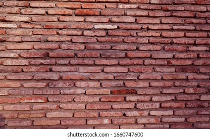 Stone and brick wall texture.  Antick wall                 - Shutterstock ID 1660747600