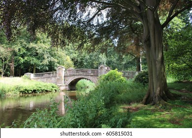 stone bridge in the park
