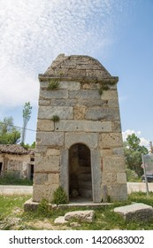 Stone building at Aizonai, Anatolia, Turkey.