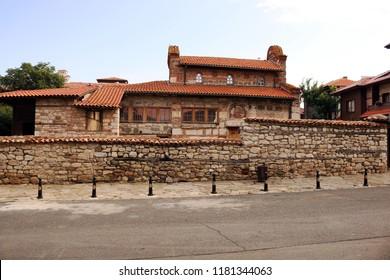 stone church of Saint Stephen Nessebar Bulgaria
