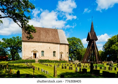 The  stone church in the smaland region of Sweden.