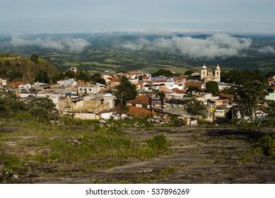 Stone city in Brazil