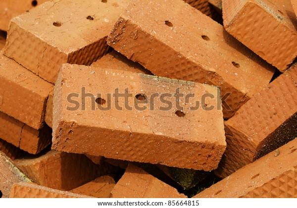 Stone clay brick