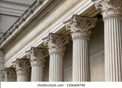 Stone column ancient classic architecture detail - Shutterstock ID 1106604740