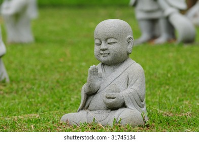 Stone craving Of A Young Buddha