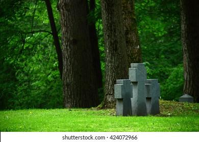 Stone Cross, Monument, Vilnius, Lithuania 2016