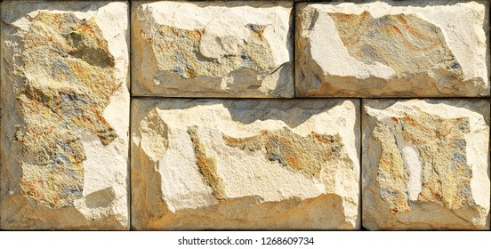 Stone elevation wall tiles for wall art
