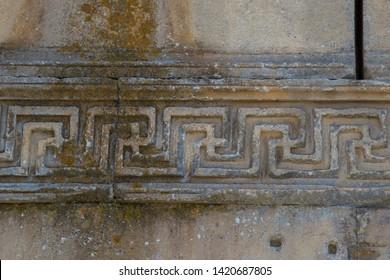 Stone engravings at Aizonai, Anatolia,Turkey