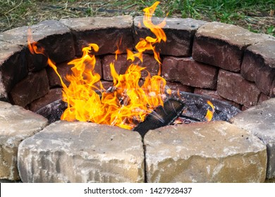 Stone fire pit 1/2000s exp