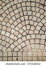 Stone floor background, Street park