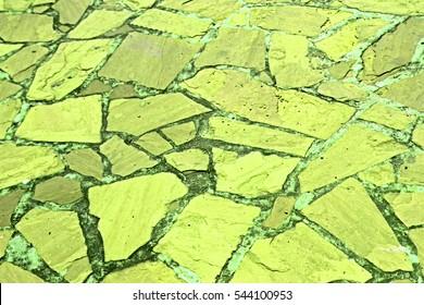 Stone floor background & texture