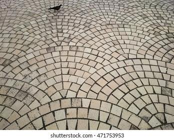 Stone floor, Street park