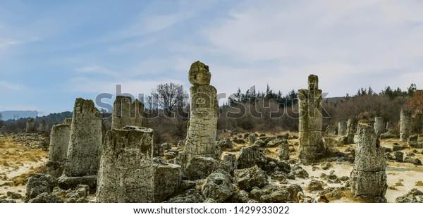 Stone Forest Varna Bulgaria Stock Photo Edit Now 1429933022