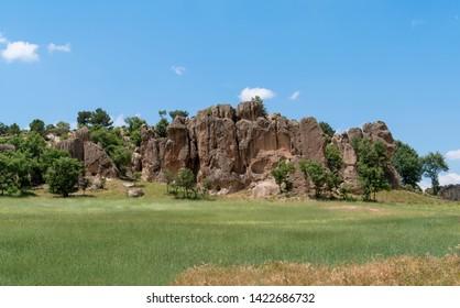 Stone formation in Phrygia Valley Natural Park (Frig Vadisi Tabiat Parki), Ihsaniye, Afyonkarahisar/Turkey