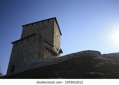 Stone fortress in city Vrsac, Serbia