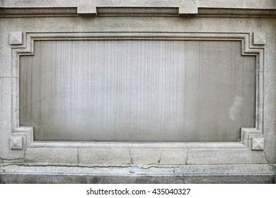 Stone frame