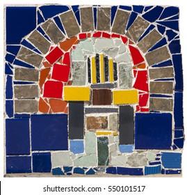 Stone and Glass Mosaic