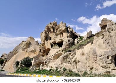 Stone house at Cappadocia