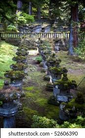 Stone Lanterns, Nikko, Tochigi, Japan