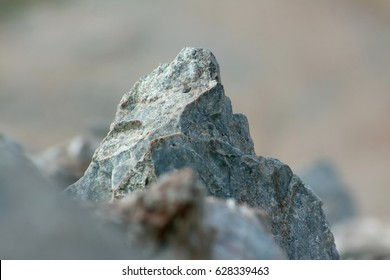 Stone macro limestone