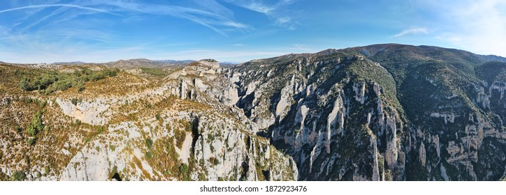 Stone monoliths in Sierra de Guara National Park near Rodellar village, Huesca province in Aragon, Spain