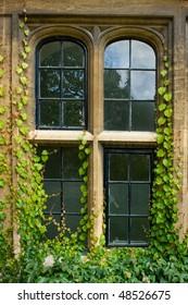 Stone Mullion Window Detail