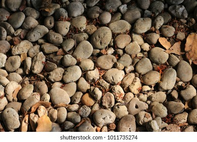 stone on the floor