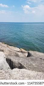 Stone on the Lake