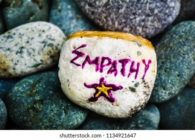 Stone painting - Empathy and Star