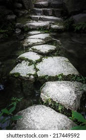 Stone path to enlightenment