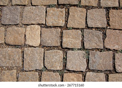Stone paving texture. Abstract structured background - Shutterstock ID 267715160