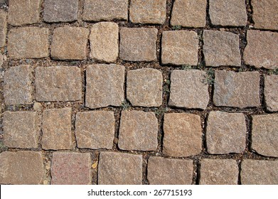 Stone paving texture. Abstract structured background - Shutterstock ID 267715193